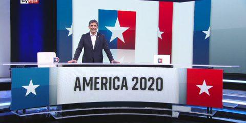 Elezioni Usa, dalle 23:00 di domani la non stop su Sky Tg24 in collaborazione con Repubblica e La Stampa