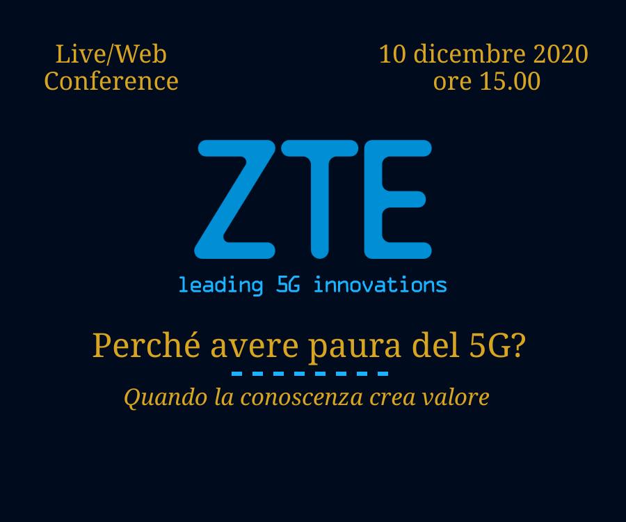ZTE webinar 10 dicembre