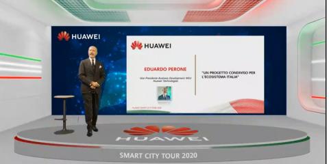 Huawei Smart City Tour fa tappa in Campania: Smart Health e Smart Education per combattere il virus