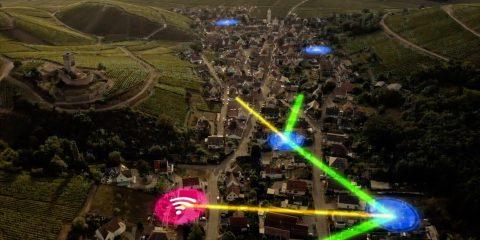 Open Fiber, accordo per portare la fibra a mille antenne FWA di Eolo