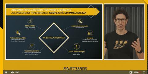 NeXXt Generation 2025, Calcagno (Fastweb): 'In cinque anni copriremo tutto il Paese a un Giga'