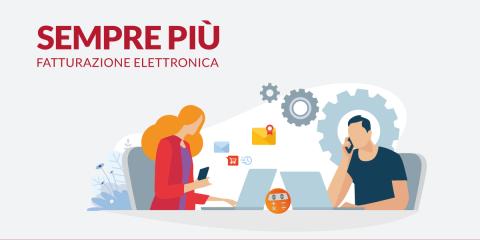 Fatturazione elettronica Aruba per 550.000 aziende e 10.000 commercialisti