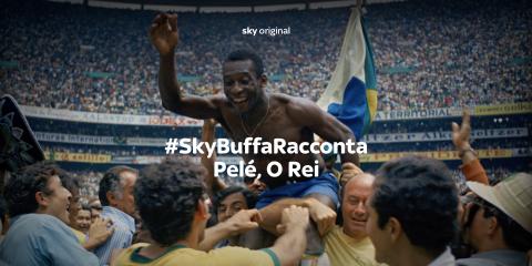 Sky Sport, questa sera #SkyBuffaRacconta Pelé O REI