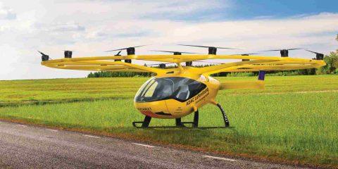 Taxi elettrici volanti per spostare rapidamente medici in tutta la Germania