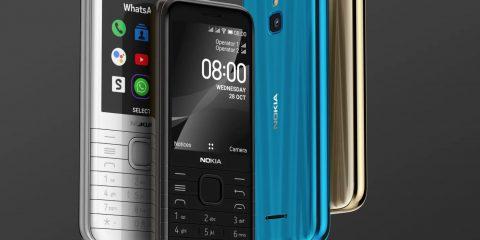 """Nokia 8000 4G, cellulare retrò ma con caratteristiche """"smart"""""""