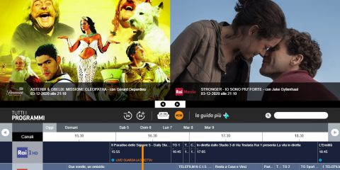 TV-Stick per la protezione dei contenuti e l'esperienza direct-to-TV su Tivùsat