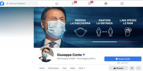 Conte, hackerata la pagina Facebook? Tra le storie spunta 'Renzi a casa'