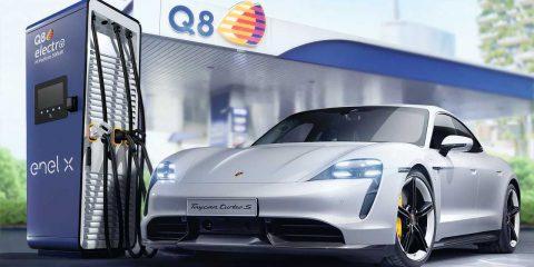 Mobilità elettrica: accordo Enel – Porsche per ampliare la rete di punti di ricarica ultraveloci