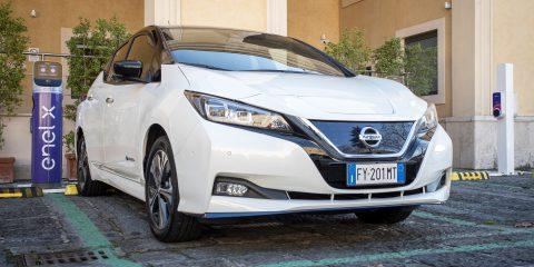 Mobilità elettrica, Enel e Nissan presentano la nuova soluzione E-Asy Electric