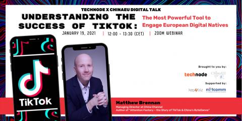 """Matthew Brennan (China Channel): """"Vi spiego le ragioni del successo di TikTok"""""""