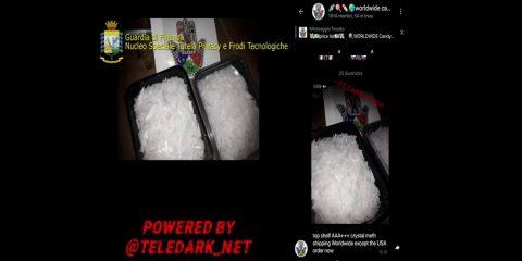 "Operazione ""Teledark"": oscurati canali Telegram per droga e documenti contraffatti. Una platea di 20 mila utenti"