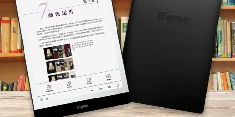 Bigme S3: ebook reader a colori in arrivo a marzo