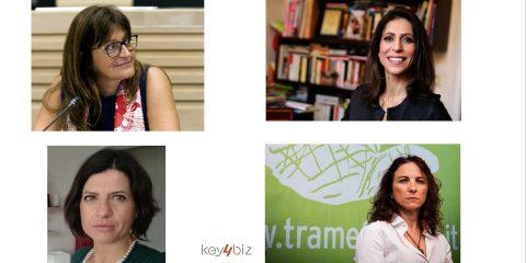 Draghi, Bianchi, Brunetta, Cartabia, come portavoce 4 donne