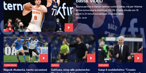 Digital audience, dallo sport alle news i siti di Sky fanno il pieno a dicembre