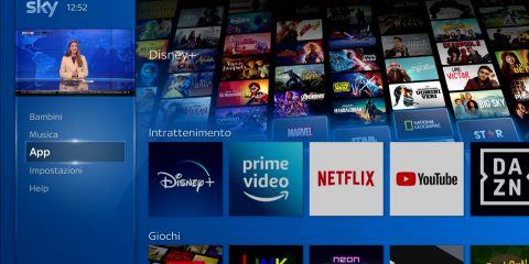 Sky senza parabola per vedere cinema, sport e Netflix