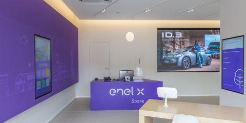 Enel X Store di Roma: la prima area urbana per la ricarica ultrafast