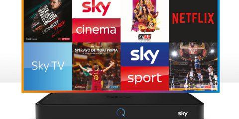 Sky Q scelto da più di 2 milioni di famiglie italiane. Ora possibile provarlo senza vincoli