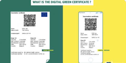 Il digital green pass della Commissione Ue per muoversi negli Stati membri dall'estate. Con quali dati?