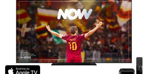 NOW su Apple Tv, come vedere le serie Tv del momento