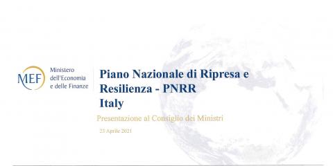 PNRR, 57 miliardi per transizione ecologica, 42 al digitale e 19 per la Sanità. Scarica la versione in CdM