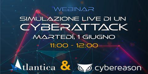 Simulazione di un cyberattack, il 1 giugno il webinar. Partecipa