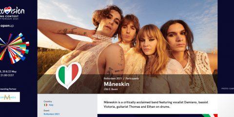 Eurovision Song Contest 2021, la finale il 22 maggio in HD