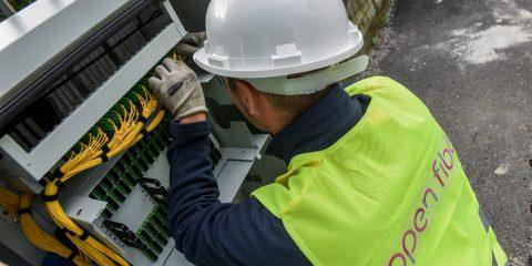Open Fiber porta la fibra nel comune bianchissimo di Rocchetta Ligure