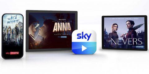 App Sky Go, raggiunte le 600 milioni di video views nel 2020
