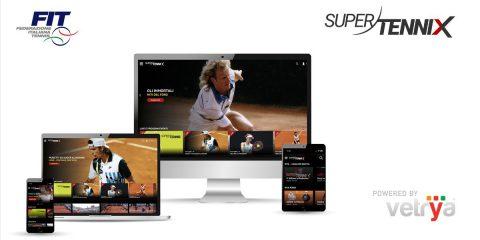Vetrya e Sportcast lanciano SuperTenniX: servizio live e video on demand della FIT