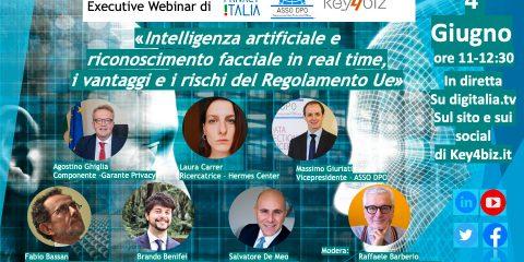 IA e Regolamento Ue. Executive Webinar il 4 giugno