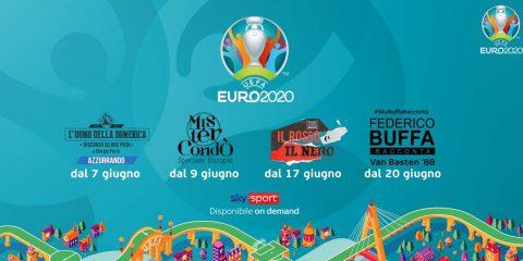 Su Sky tutte le partite di Uefa Euro 2020