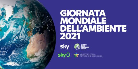 Giornata mondiale dell'ambiente, continua l'impegno di Sky