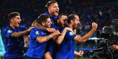 Europei di calcio: Italia-Galles in 4K su tivùsat