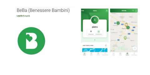 Lepida: arriva Beba, l'app per promuovere stili di vita sani nei bambini