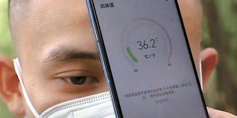 Presto gli smartphone saranno dotati di termometri per misurare la febbre