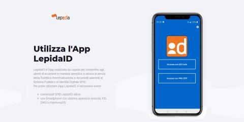 """SPID, attiva da oggi l'app """"LepidaID"""""""