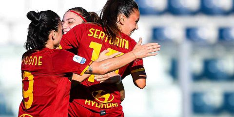 Calcio, le partite di Serie A femminile in HD solo su Tivùsat