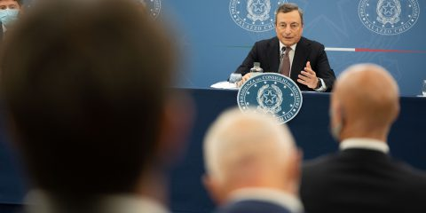 Democrazia Futura. Draghi: comunicazione di interesse nazionale, non di battaglia elettorale