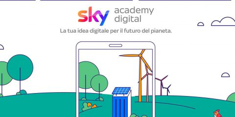 Scuola, al via la Sky Digital Accademy per le competenze digitali