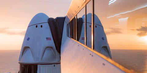 """Space X, mercoledì il lancio con astronauti """"principianti"""". Parte l'era del turismo spaziale"""