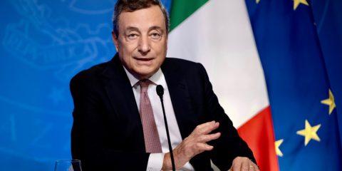 """Draghi: """"Pronti ad un nuovo impegno economico per il clima"""""""