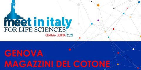 A Genova il 29 settembre il Meet in Italy for Life Sciences 2021