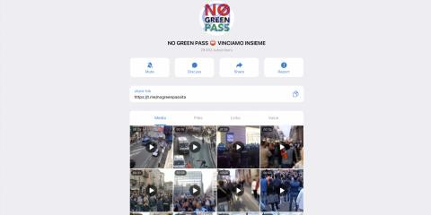 Forza Nuova, sito sequestrato. Ma è Telegram il principale megafono del movimento e 'No green pass'